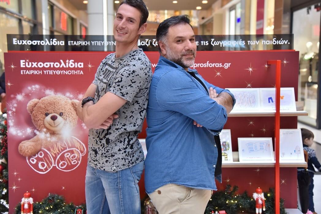 Γρηγόρης Αρναούτογλου και Παναγιώτης Τριβυζάς σε ένα απολαυστικό challenge με Ευχοστολίδια: Ποιος θα εκπληρώσει πιο γρήγορα μια παιδική ευχή; | tlife.gr