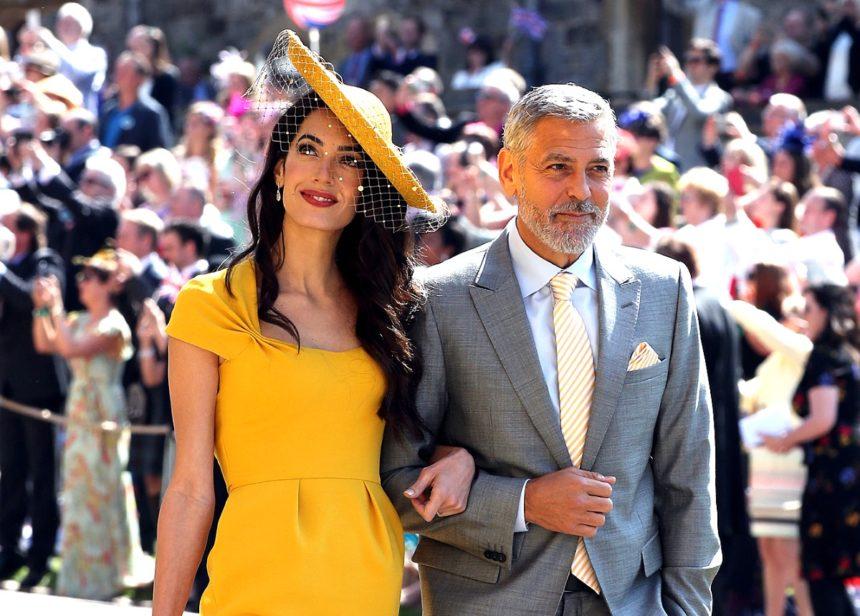 Προς πώληση το κίτρινο φόρεμα που φορούσε η Amal Alamuddin στον γάμο του πρίγκιπα Harry και της Meghan Markle | tlife.gr