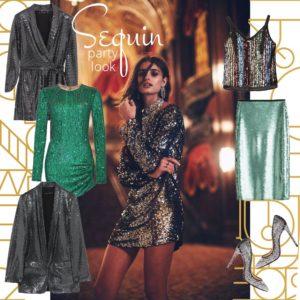 Party look: Sequin