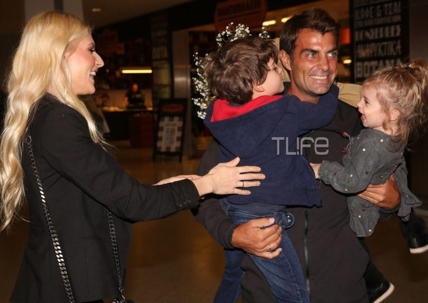 Ο Στέλιος Χανταμπάκης επέστρεψε στην Ελλάδα: Η θερμή υποδοχή που του επιφύλασσαν η Όλγα Πηλιάκη και τα παιδιά τους! [pics] | tlife.gr