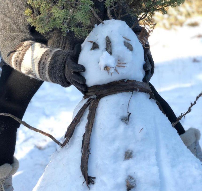 Ποια Ελληνίδα τραγουδίστρια έφτιαξε αυτόν τον όμορφο χιονάνθρωπο; [pics] | tlife.gr