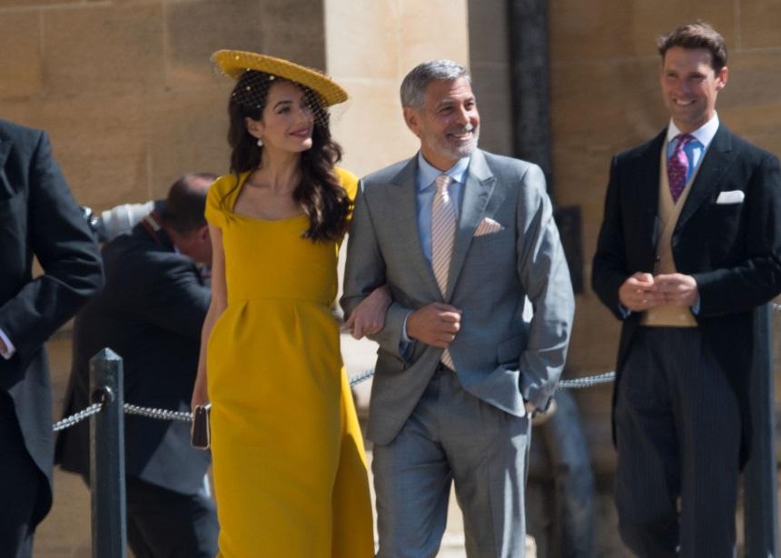 Το φόρεμα της Amal Clooney στο βασιλικό γάμο μπορεί να γίνει δικό σου! | tlife.gr