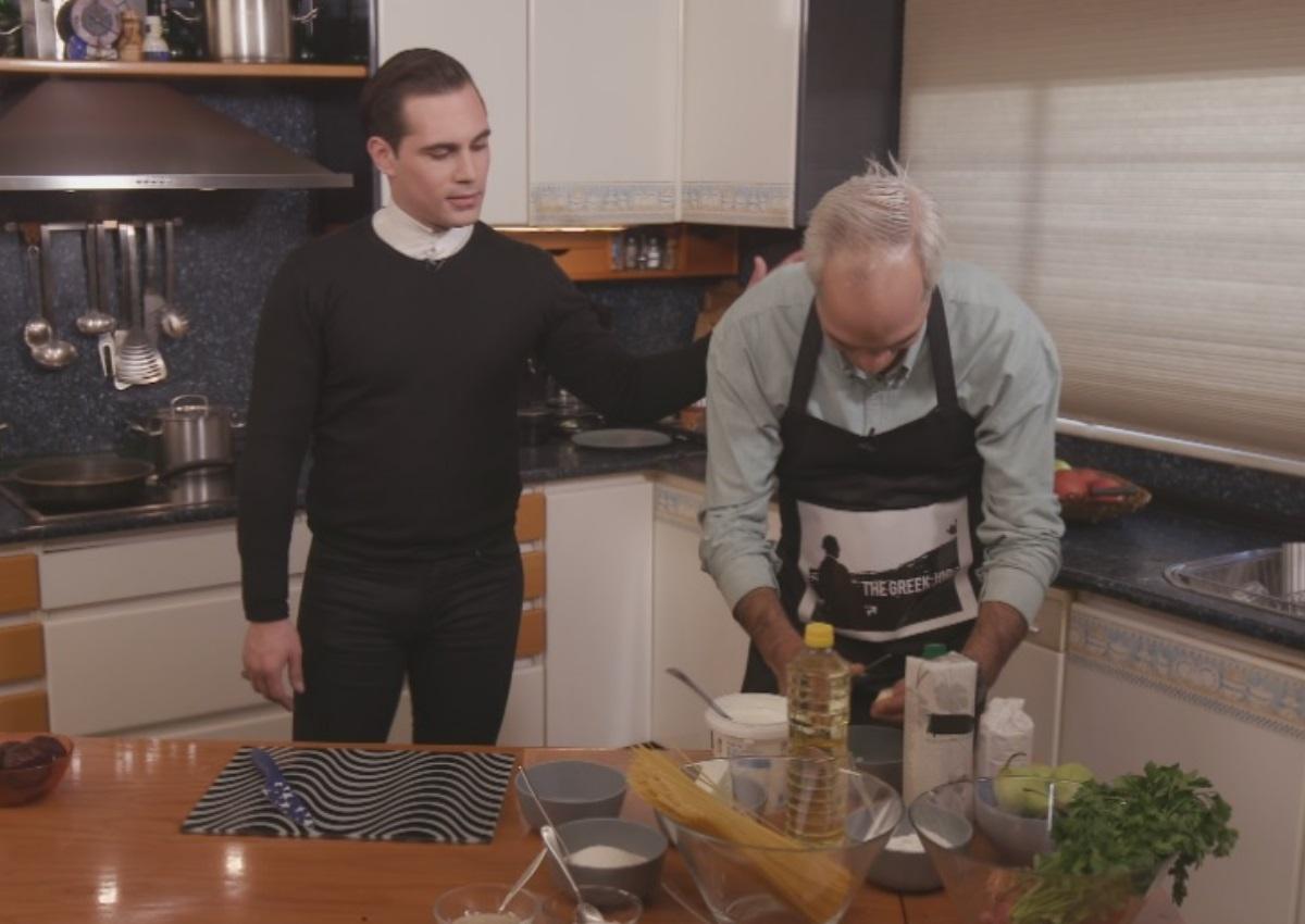 Άνθιμος Ανανιάδης: Μπαίνει στην κουζίνα τηλεοπτικής εκπομπής για καλό σκοπό μέσα στις γιορτές! [pics] | tlife.gr