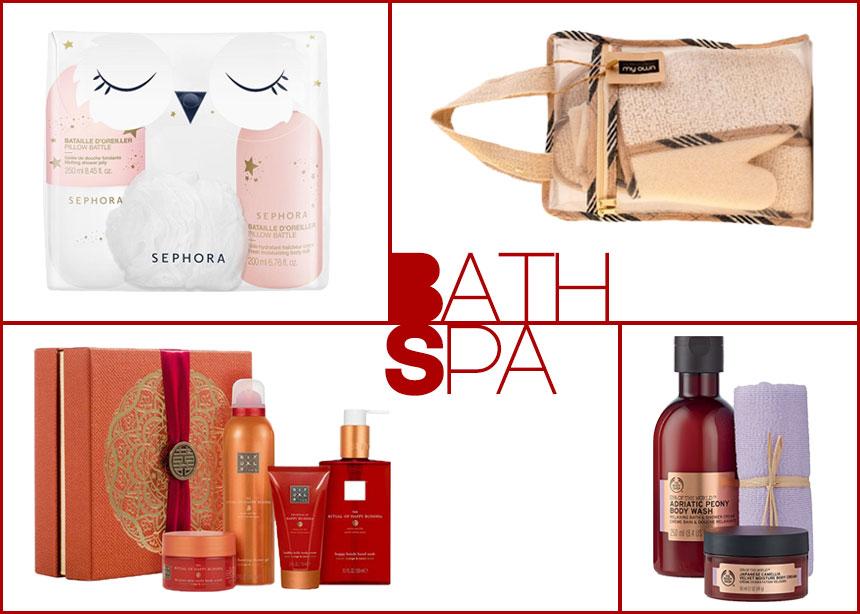 7 bath set που θα μετατρέψουν το μπάνιο σου σε spa! Και ναι, είναι το τέλειο δώρο! | tlife.gr