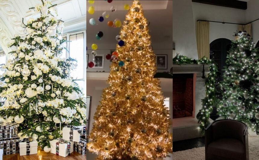 Oh (celebrity) Christmas tree: 14 διεθνείς stars μας δείχνουν το χριστουγεννιάτικο δέντρο τους | tlife.gr