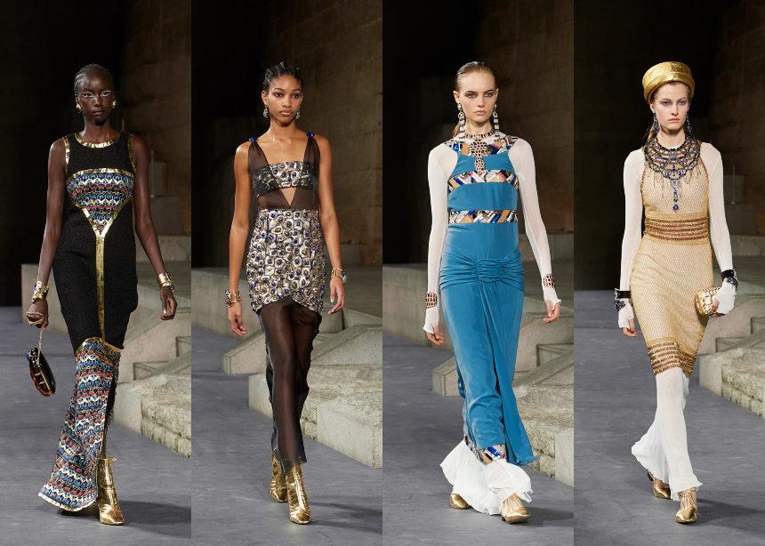 "Chanel Metiers d'Art: Το εντυπωσιακό show με έμπνευση από την Κλεοπάτρα και οι σταρ που έδωσαν το ""παρών"" | tlife.gr"
