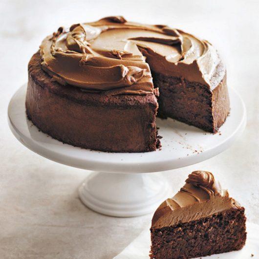 Βασιλόπιτα με σοκολάτα και frosting κακάο | tlife.gr