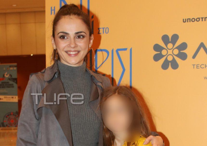 Αγγελική Δαλιάνη:Με την κόρη της Λυδία στο Μέγαρο Μουσικής! [pics]   tlife.gr