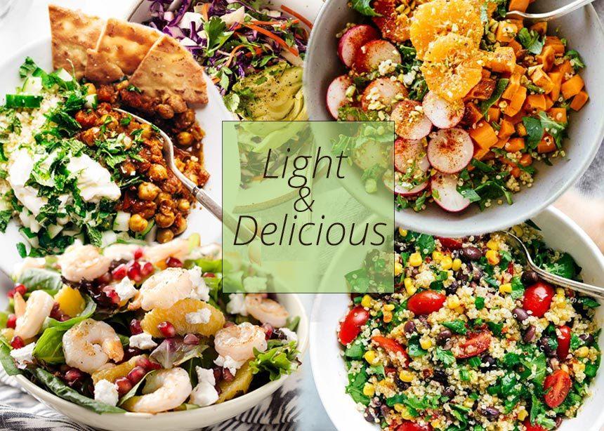 Συνταγές για detox σαλάτες! Ο πιο νόστιμος τρόπος να κάνεις αποτοξίνωση και να αδυνατίσεις | tlife.gr