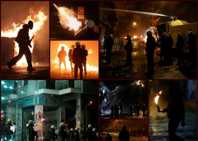 Επεισόδια στα Εξάρχεια: Φλόγες ξανά για την δολοφονία Γρηγορόπουλου   tlife.gr