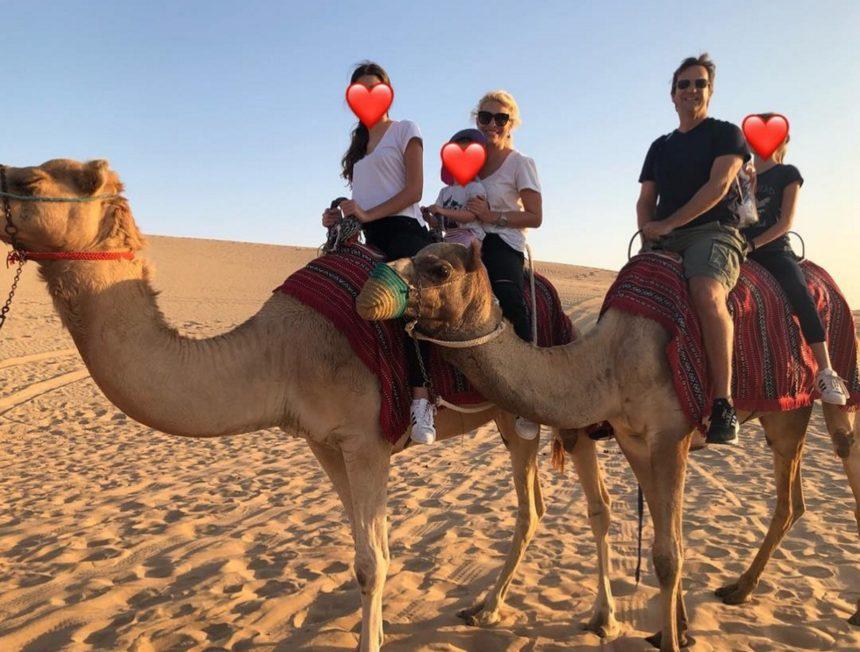 Ελένη Μενεγάκη: Πέρασε τις γιορτές με την οικογένειά της… στην έρημο! [pics] | tlife.gr