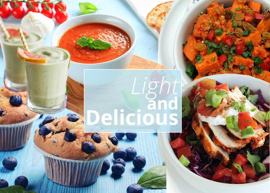 Πέντε light συνταγές που καίνε το λίπος και βοηθούν στο αδυνάτισμα