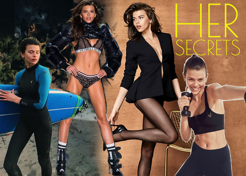 Georgia Fowler: Το μοντέλο εσωρούχων και Άγγελος της Victoria's Secret αποκαλύπτει τη δίαιτα και τη γυμναστική της | tlife.gr