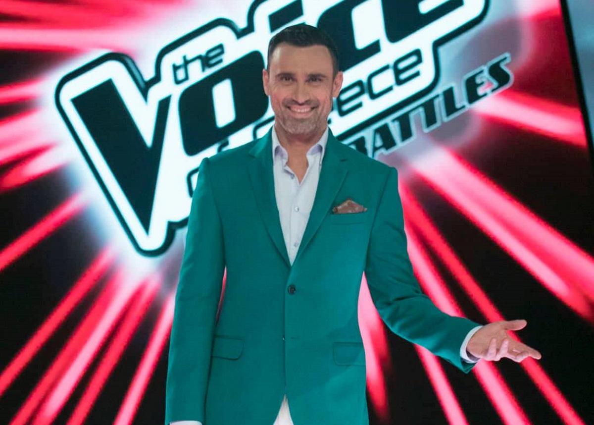 Γιώργος Καπουτζίδης: Εντυπωσιακό στιλ στο πρώτο live του «The Voice» [pics] | tlife.gr