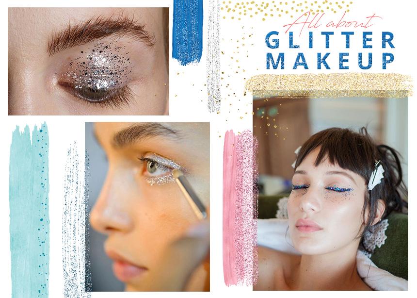 Μακιγιάζ με glitter: hacks που πρέπει να ξέρεις για το πιο γιορτινό και ροκ μακιγιάζ!
