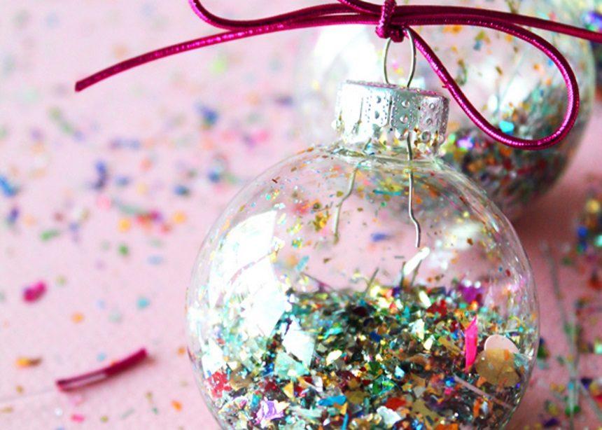Glittered Up: Αυτές είναι οι πιο stylish DIY μπάλες για το δέντρο σου! | tlife.gr