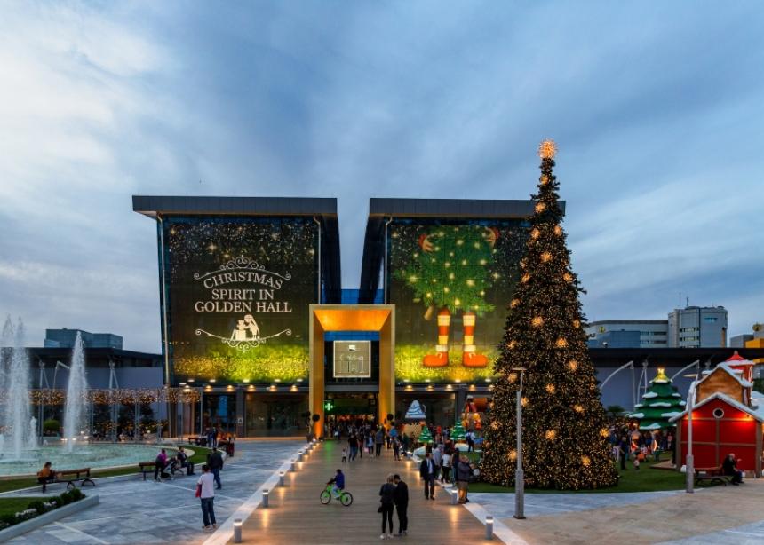 H Goldenland επιστρέφει στο Golden Hall για μαγικά Χριστούγεννα!