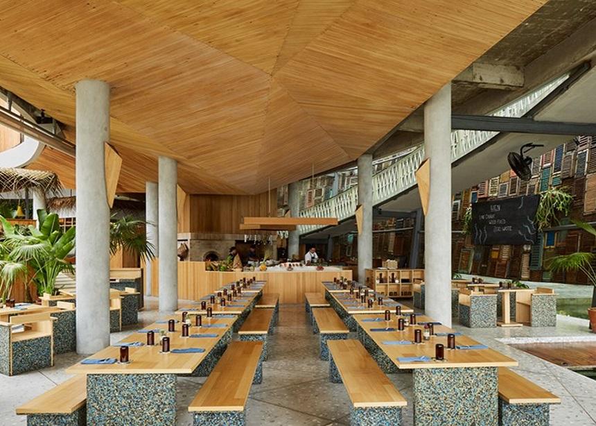 Ijen: Το πρώτο zero waste εστιατόριο του Μπαλί έχει τον πιο εντυπωσιακά οικολογικό σχεδιασμό | tlife.gr