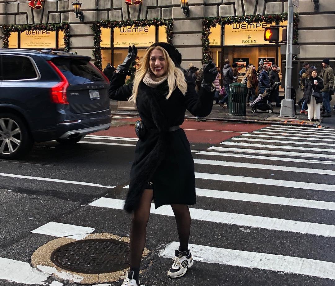 Κωνσταντίνα Σπυροπούλου: Her Style Rocks και στην Νέα Υόρκη! [pics]   tlife.gr