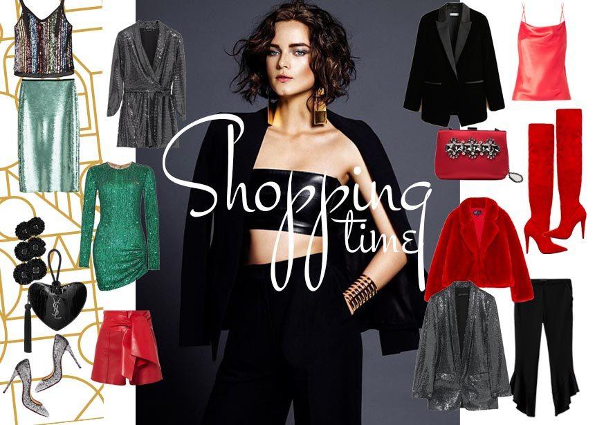 Γιορτινές εμφανίσεις: Sequin, κόκκινα και μαύρα fashion items για να εντυπωσιάσεις   tlife.gr