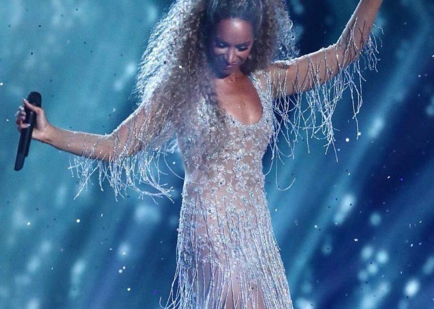 Η Leona Lewis στον τελικό του X-Factor UK με εντυπωσιακή δημιουργία Celia Kritharioti Couture! | tlife.gr