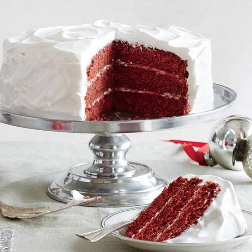 Ζουμερό red velvet cake