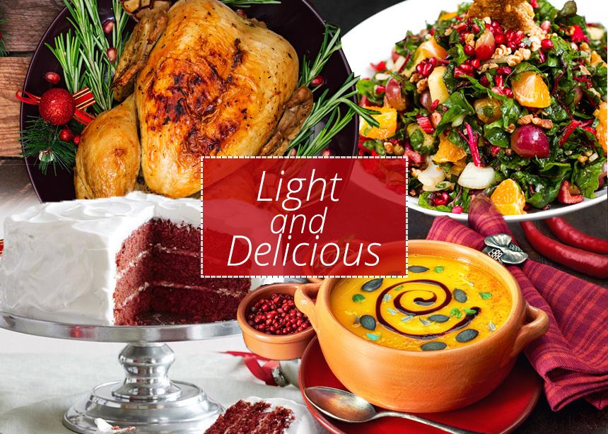 Χριστουγεννιάτικο τραπέζι: Νόστιμες και light συνταγές με λιγότερο από 300 θερμίδες