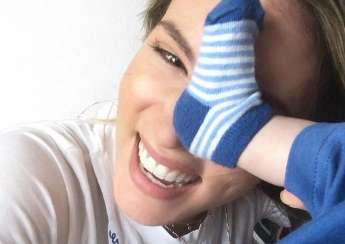 Αθηνά Οικονομάκου: Παιχνίδια με τον 9 μηνών γιο της, Μάξιμο, στο παιδικό δωμάτιο! [video] | tlife.gr