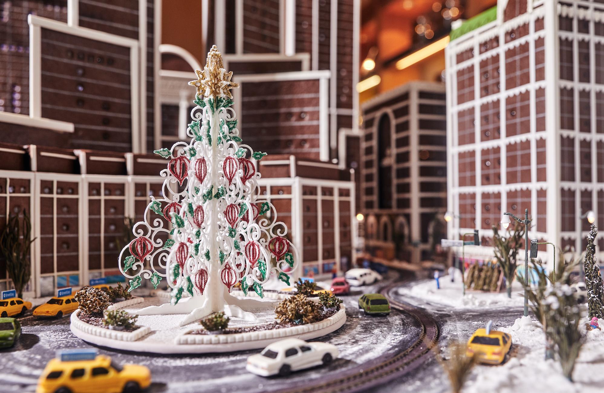 Ο χριστουγεννιάτικος ορίζοντας της Νέας Υόρκης φτιαγμένος από… μπισκότο! | tlife.gr