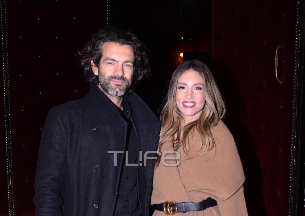 Αθηνά Οικονομάκου: Βραδιά θεάτρου με τον σύζυγό της Φίλιππο Μιχόπουλο! [pics] | tlife.gr