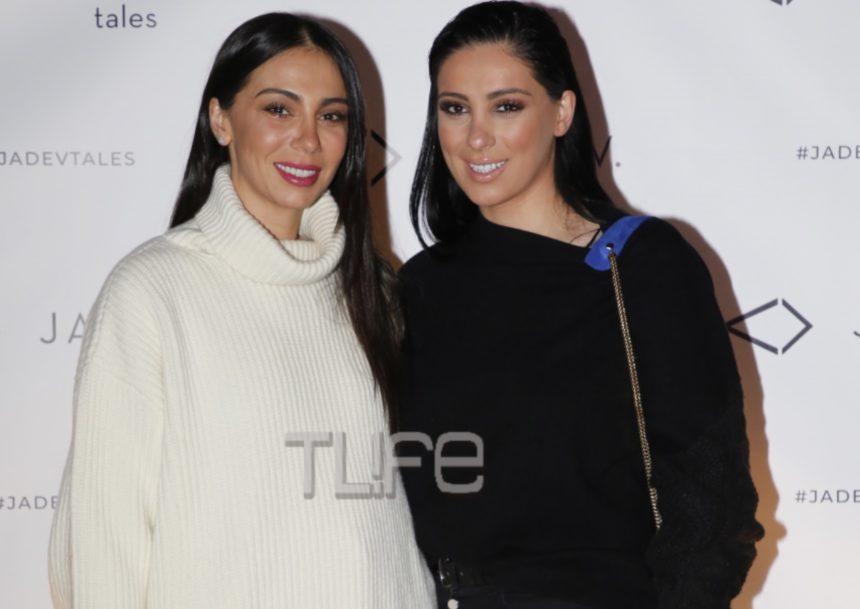 Ολυμπία και Βαλέρια Χοψονίδου: Stylish εμφάνιση για τις δύο αδελφές σε εγκαίνια στη Γλυφάδα! [pics] | tlife.gr