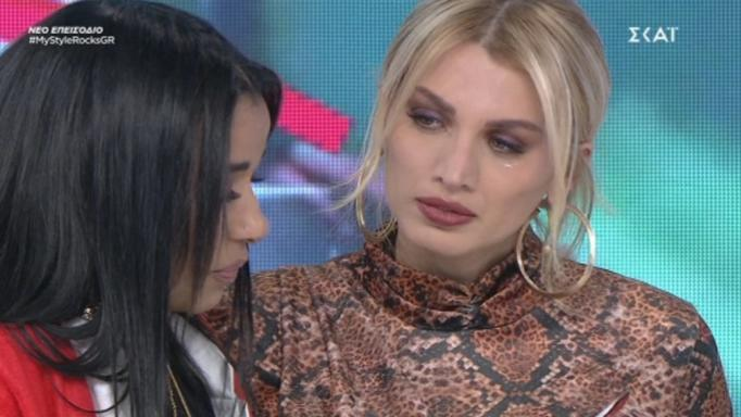 My Style Rocks: Κατέρρευσε η Χριστίνα Παπαδέλλη! Έκλαιγε με λυγμούς! | tlife.gr