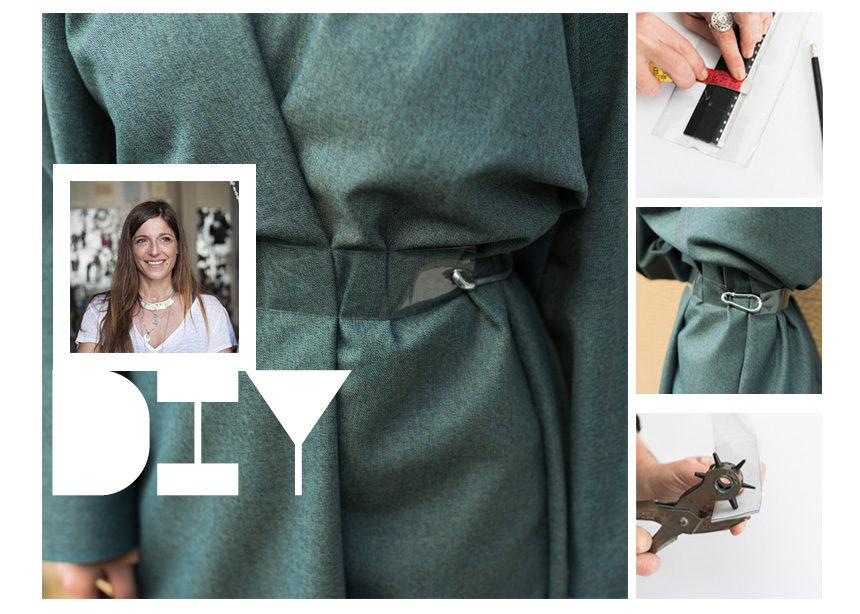 DIY: Βήμα – βήμα πως να φτιάξεις μόνη σου μια PVC ζώνη   tlife.gr