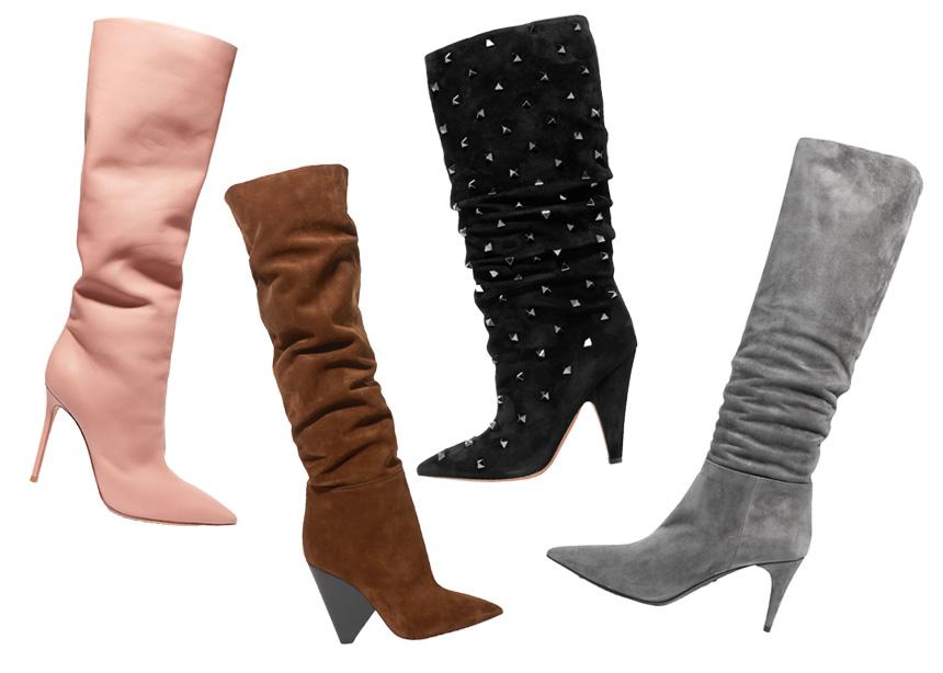 Slouchy boots: Ένας οδηγός αγοράς με τα πιο ωραία ζευγάρια που θα βρεις στο Net-a-Porter | tlife.gr