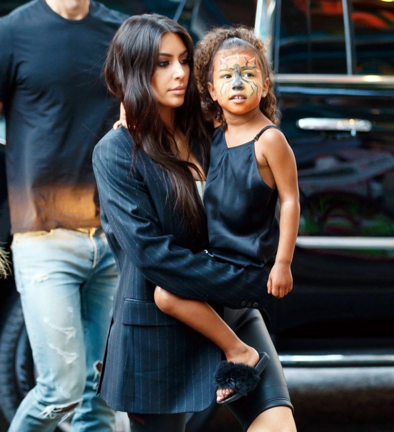 Η Kim Kardashian έχει αυτούς τους κανόνες μακιγιάζ για την North West! | tlife.gr