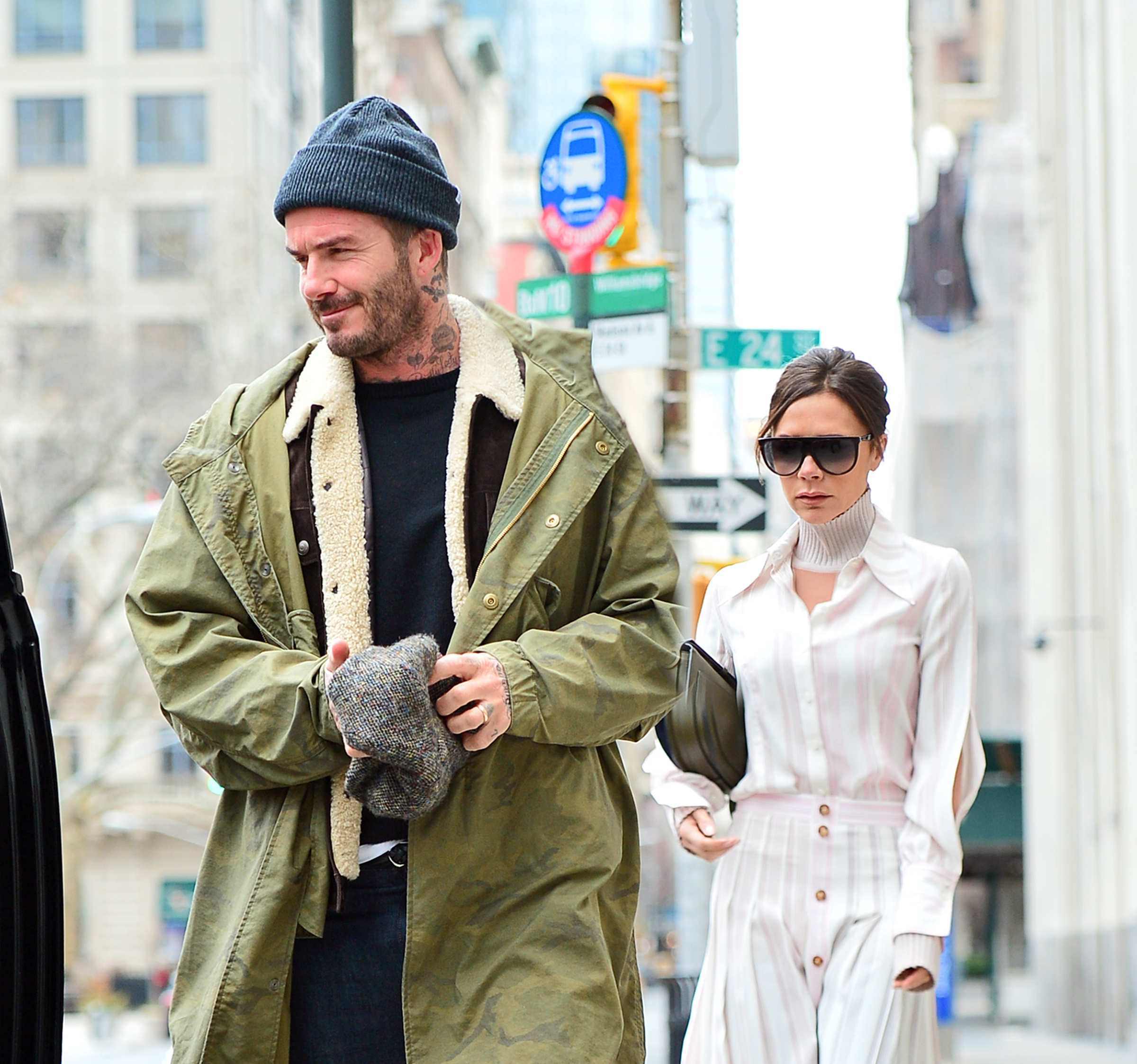 Ο David Beckham κλέβει τα καλλυντικά της Victoria! | tlife.gr