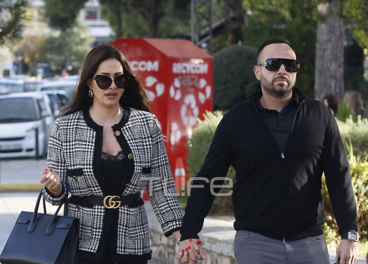 Βασίλης Σταθοκωστόπουλος: Χέρι – χέρι με την σύντροφό του στη Γλυφάδα [pics]
