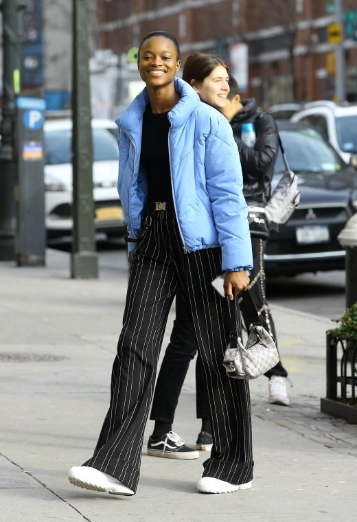 Νέα Υόρκη με puffer jacket | tlife.gr