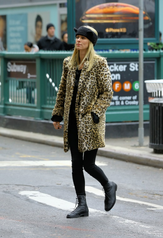 Νέα Υόρκη με λεοπάρ παλτό | tlife.gr