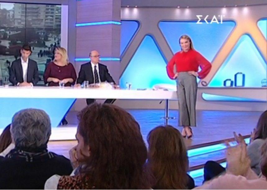 Όλες οι λεπτομέρειες για το look της Τατιάνας (21/12) | tlife.gr