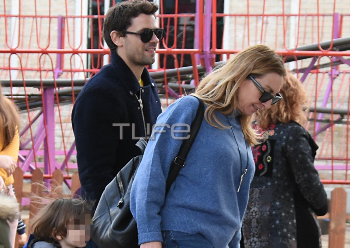 Αποστόλης Τότσικας – Ρούλα Ρέβη: Στο λούνα παρκ με τα δίδυμα παιδιά τους! [pics] | tlife.gr