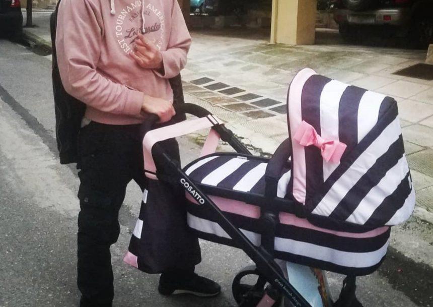 Έλληνας ηθοποιός βγήκε βόλτα με την μόλις 23 ημερών κόρη του! [pic] | tlife.gr
