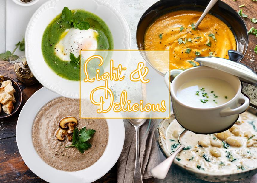 Light συνταγές: 5 βελουτέ σούπες που μειώνουν την όρεξη | tlife.gr
