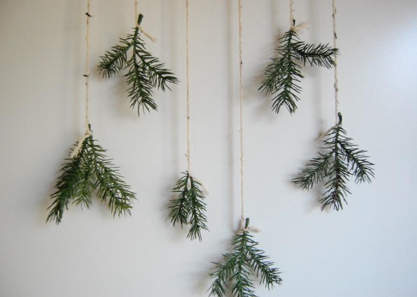 Φτιάξε μόνη σου ένα εντυπωσιακό διακοσμητικό τοίχου για τα Χριστούγεννα!   tlife.gr