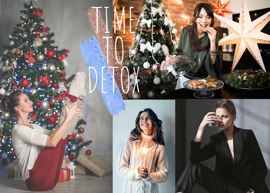 Από τα Χριστούγεννα στην Πρωτοχρονιά: Εύκολα tips για να κάνεις αποτοξίνωση
