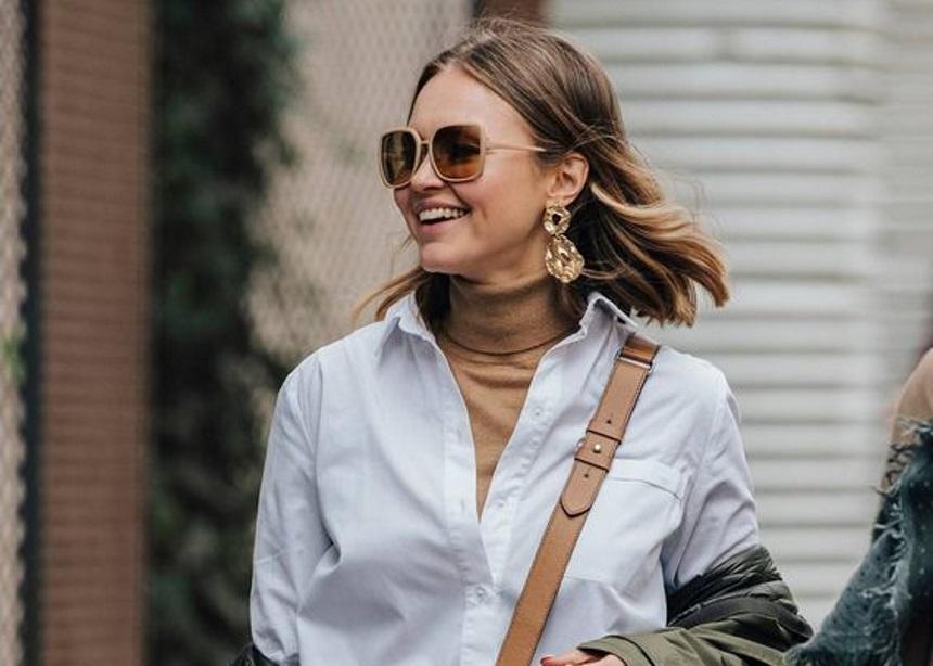 Ένα τέλειο styling tip για να φορέσεις το πουκάμισό σου τις κρύες μέρες