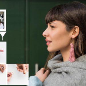 Η Πόπη Αναστούλη σου δείχνει πως να φτιάξεις ένα ζευγάρι stylish σκουλαρίκια μέσα σε 5 λεπτά