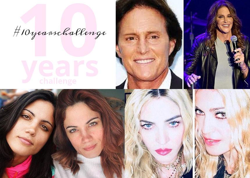 #10yearchallenge :δεν μπορούσαμε να αντισταθούμε στο trend οπότε συγκεντρώσαμε τα ωραιότερα! | tlife.gr