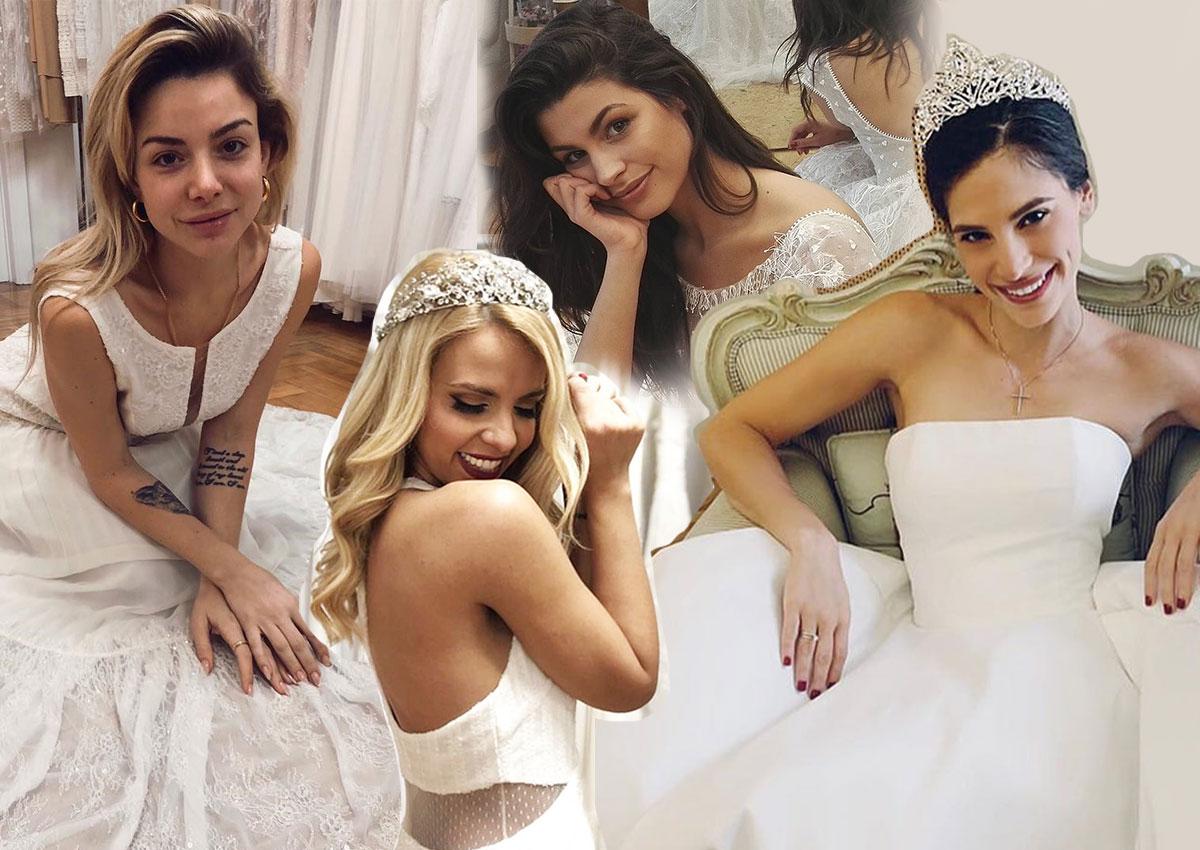Οι κυρίες της εγχώριας showbiz ντύνονται νύφες για καλό σκοπό! [pics] | tlife.gr