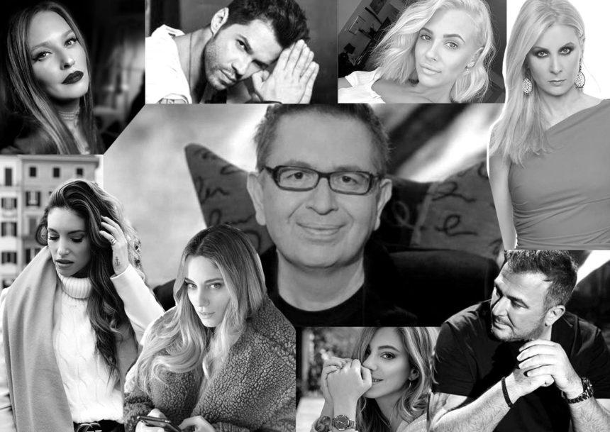 Η ελληνική showbiz αποχαιρετά τον Θέμο Αναστασιάδη | tlife.gr